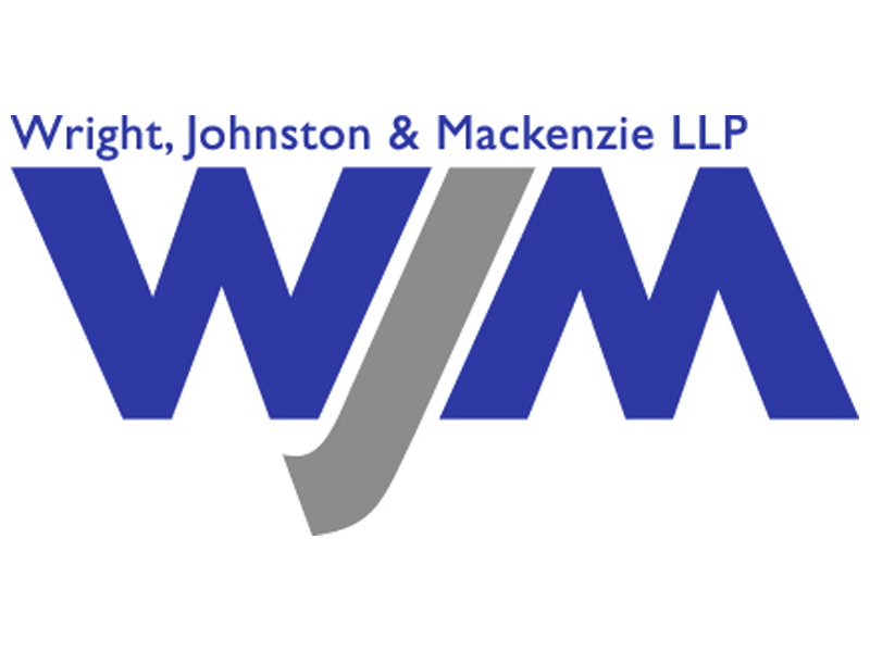 Wright, Johnston & Mackenzie LLP delighted to support entrepreneurship in Scotland