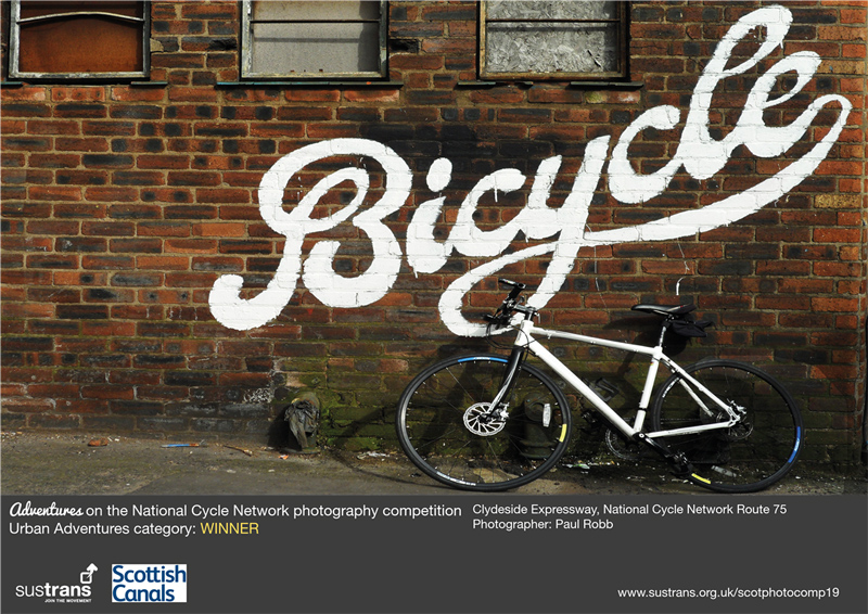 Image for : Photography exhibition celebrating the National Cycle Network across Scotland opens as part of the Edinburgh Festival Fringe